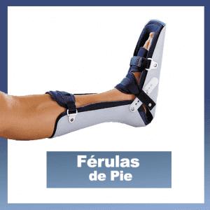 ferulas de pie