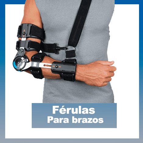 ferulas para brazos