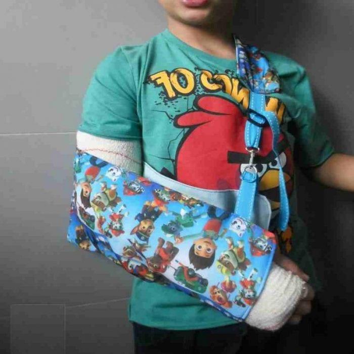 Ferula para brazo infantil